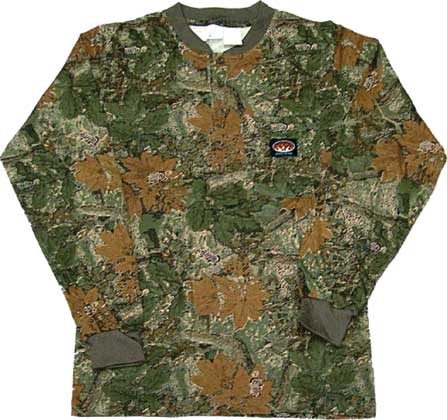(CMF458) LONG SLEEVE 100% COTTON CAMO
