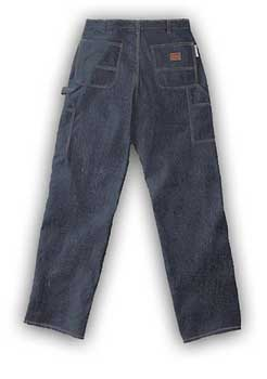 (FRC1212) Blue Denim Fire Retardant Carpenter Pants